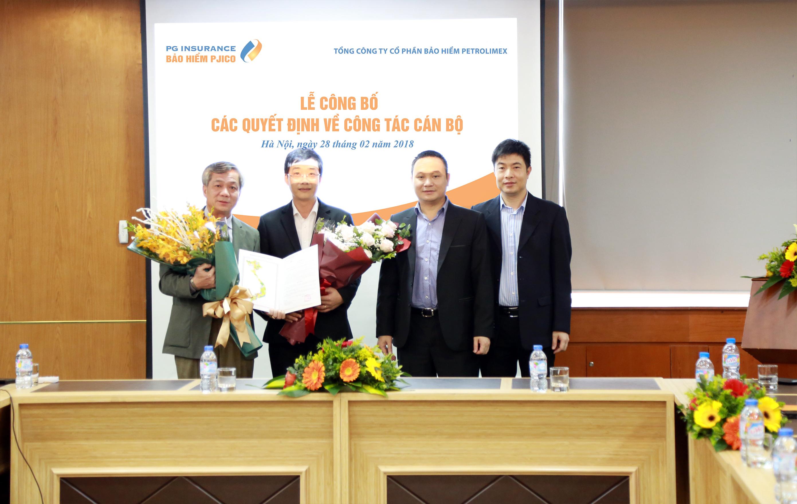 Lễ công bố quyết định nhân sự cấp cao PJICO