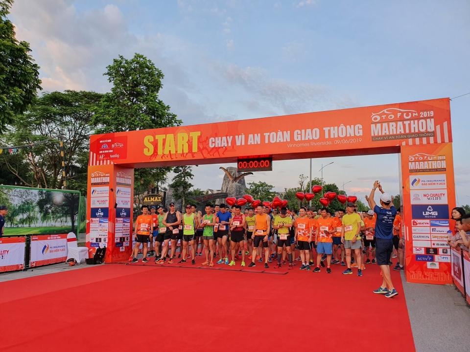 PJICO tài trợ giải Marathon – Chạy vì an toàn giao thông
