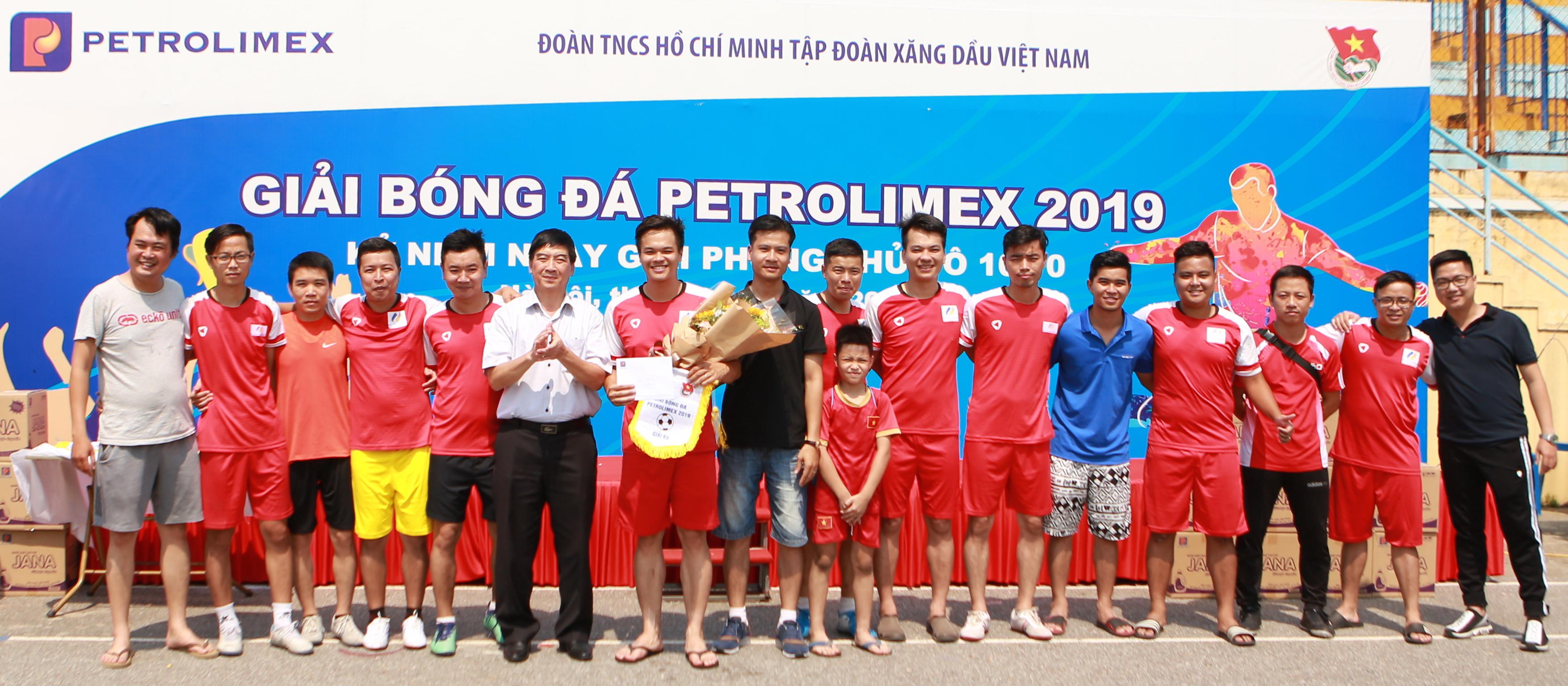 PJICO tham gia giải bóng đá Petrolimex 2019