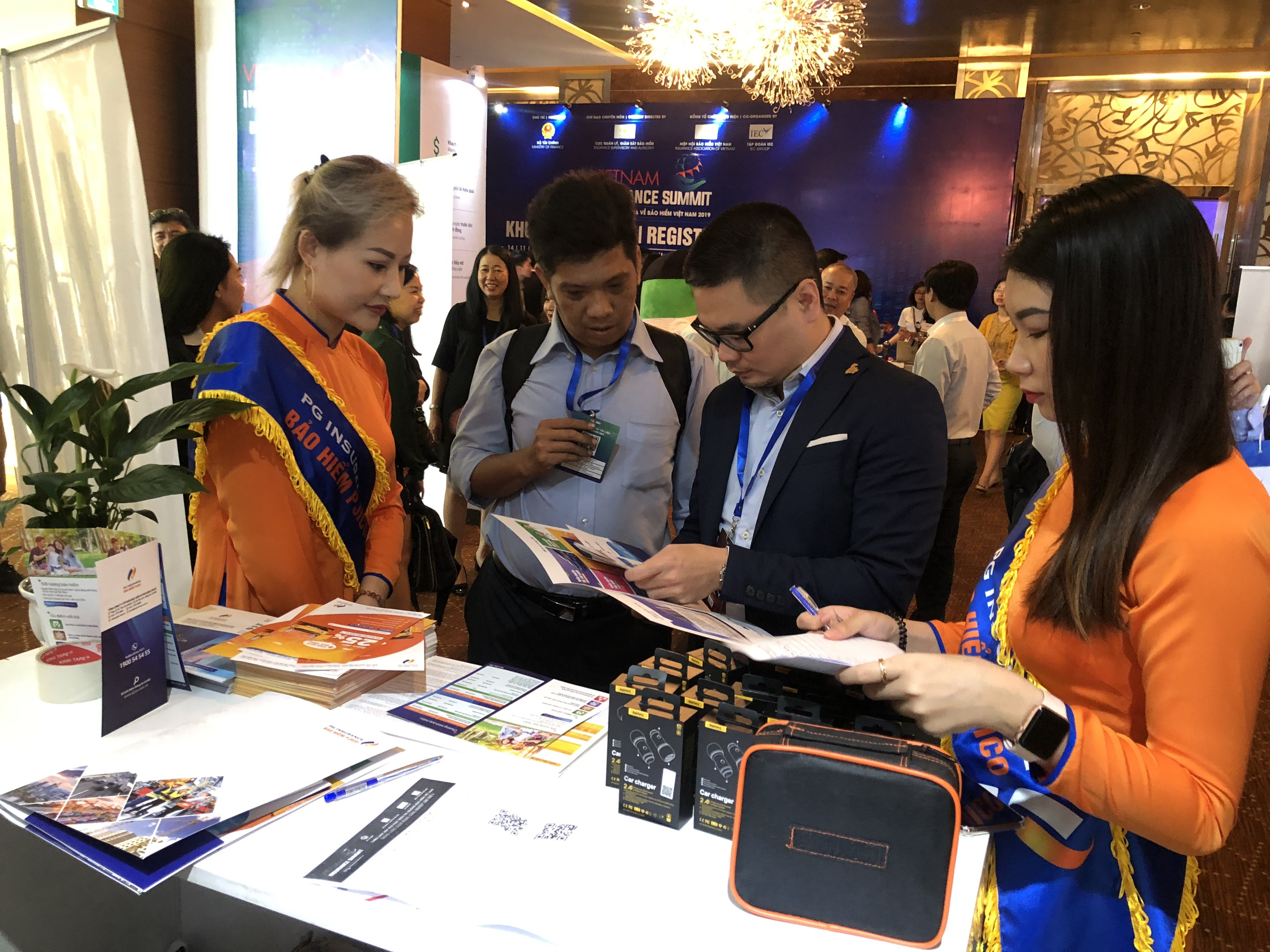 PJICO tài trợ tại Triển lãm bảo hiểm Việt Nam 2019
