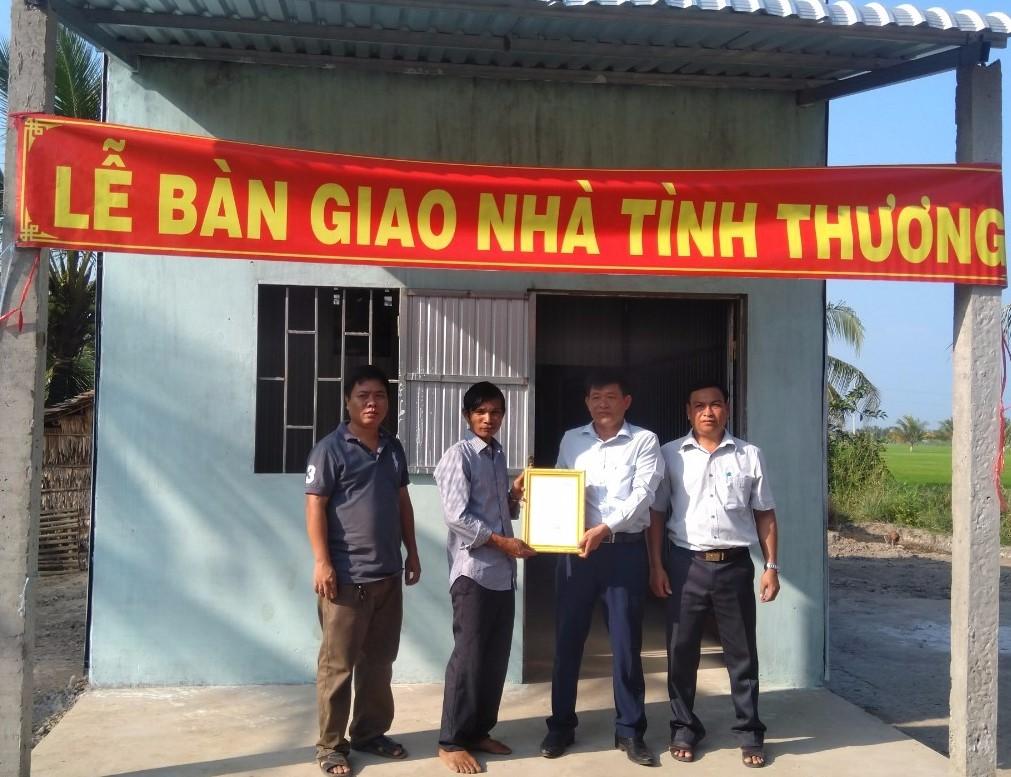 PJICO hỗ trợ xây dựng 3 căn nhà tình nghĩa tại tỉnh Trà Vinh