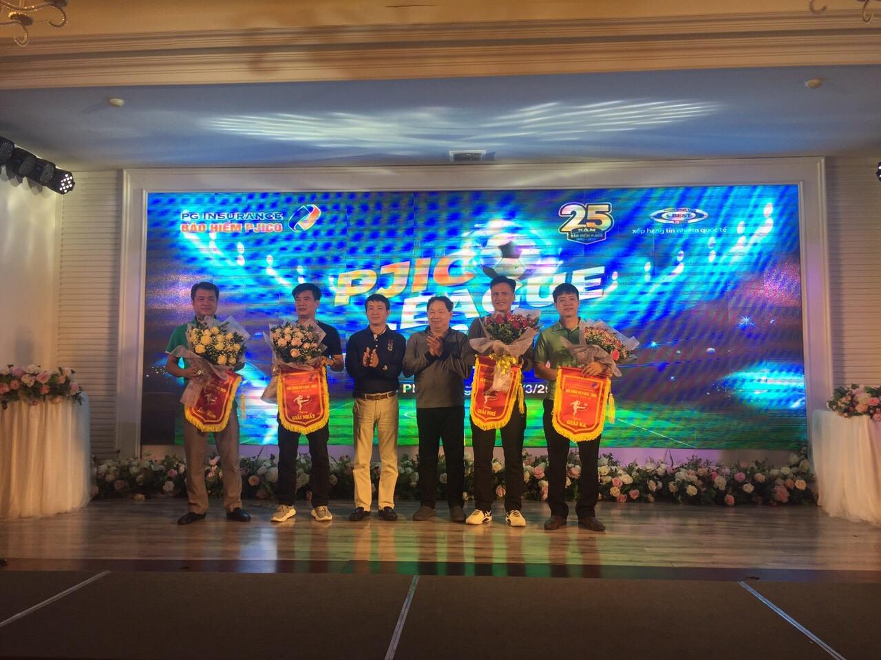 PJICO tổ chức Giải bóng đá chào mừng kỷ niệm 25 năm thành lập Tổng Công ty