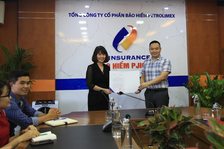 PJICO thành lập phòng Bảo hiểm bancasurance & Quản lý đại lý