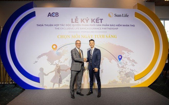 ACB và Sun Life bắt tay bán bảo hiểm nhân thọ