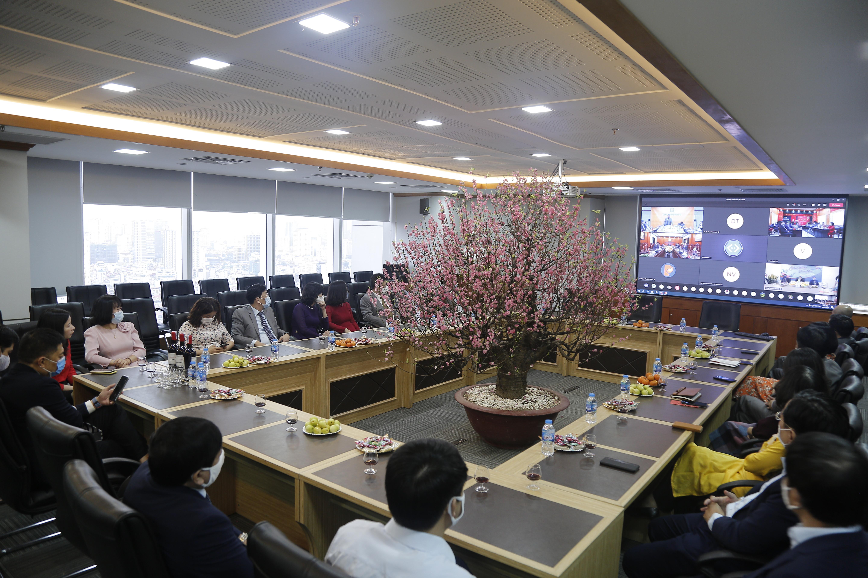 PJICO tham gia buổi gặp mặt trực tuyến đầu Xuân năm 2021