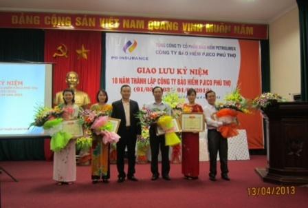 Pjico Phú Thọ – 10 năm trưởng thành (18-4-2013)