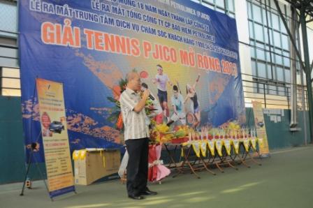 Pjico – Tổ chức giải Tennis Chào mừng các sự kiện trọng đại(15-6-2013)