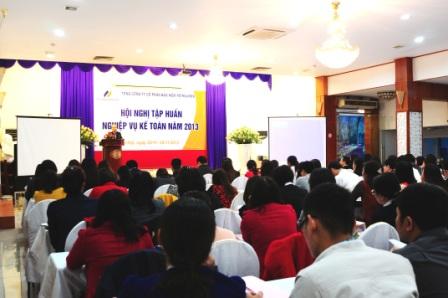 PJICO TỔ CHỨC HỘI NGHỊ TẬP HUẤN NGHIỆP VỤ KẾ TOÁN NĂM 2013